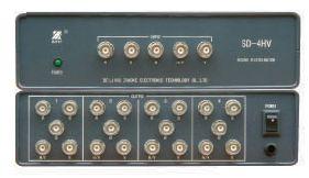 SD-4HV 4路5BNC分配器
