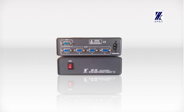 sd-4g 4路vga信号分配器