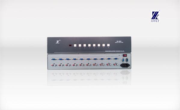 SW-8GAS 8路VGA/音频信号切换器