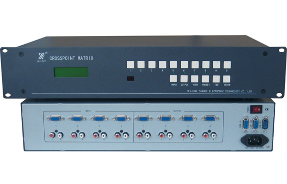 MT-404GAS 4入4出VGA/音频矩阵切换器