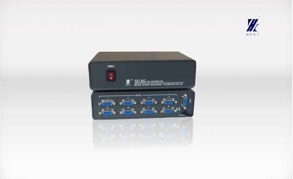 sd-8g 8路vga信号分配器